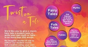 Twist on a Tale Competition from St Helens Libraries