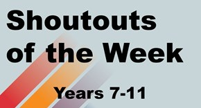 More Shoutouts of the Week! #StCuthBEST